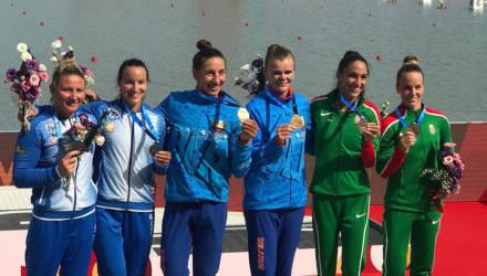Два золота и серебро: спортсмены Гомельщины выиграли первые медали для сборной на ЧМ по гребле
