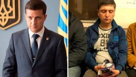 В метро замечен двойник Зеленского, кадры взорвали интернет