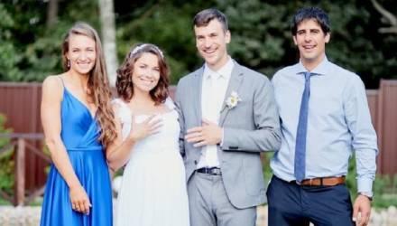 Домрачева показала фото со свадьбы Скардино
