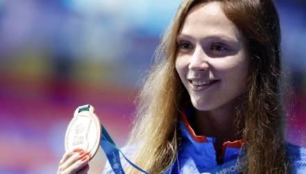 «Золотая рыбка уплыла»: пловчиха Александра Герасименя, которая вышла замуж за гомельчанина, завершила карьеру