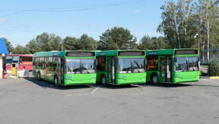 Речицкий автопарк пополнился новыми автобусами