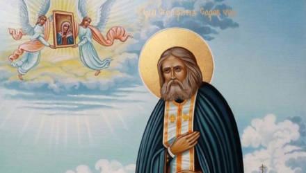 В Гомельскую епархию прибудет икона с частичкой мощей преподобного Серафима Саровского