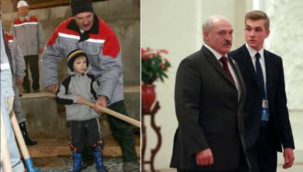 Как менялся Коля Лукашенко с момента появления в СМИ