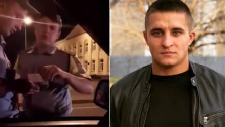 «Эээ, ты кто такой вообще?!» Пьяный парень сцепился с белорусскими гаишниками, и видео попало в интернет – теперь ему грозит «уголовка»