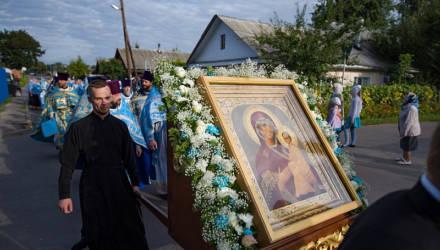 В Гомель прибыла чудотворная икона Божией Матери «Югская»