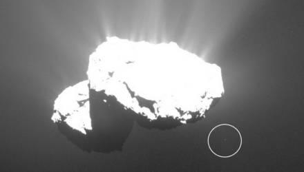 Учёные показали таинственный объект, взлетевший с кометы Чурюмова – Герасименко