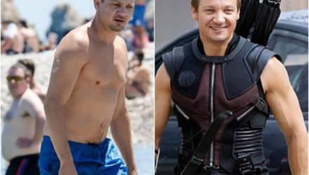 7 актёров Marvel, которым пришлось изрядно попотеть в зале: фото до и после