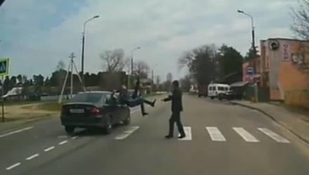 Прокуратура области направила в суд уголовное дело гомельчанина: пьяный бесправник сбил двух человек на пешеходном переходе