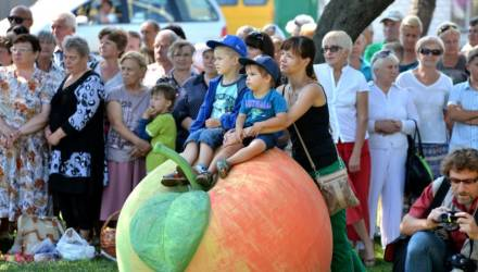 Яблочный спас. Гомельчан приглашают освятить плоды под открытым небом