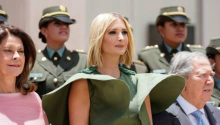 Унесённые ветром: очень дорогое платье подвело Иванку Трамп