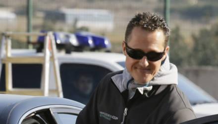 Попавший в больницу Михаэль Шумахер находится в сознании