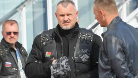 """Фотофакт: Шуневич с бородой и на """"Харлее"""" приехал на H.O.G Rally Минск-2019"""