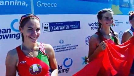 Гомельчанки завоевали золото на молодёжном чемпионате Европы по академической гребле в Греции