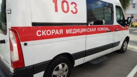 В больнице умерла белоруска, которой зажало шею стеклом автомобильной двери