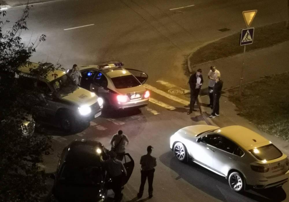 В Гомеле похитили девушку на BMW X6. Милиционеры обнаружили и блокировали автомобиль