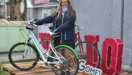В Гомеле открылась площадка для велосипедистов