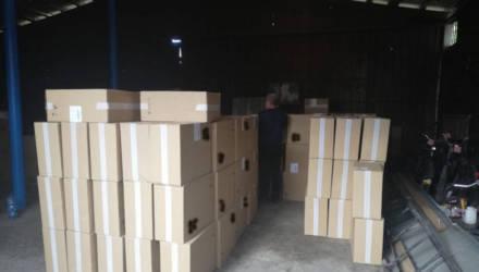 Неведомо откуда вёз эквивалент $100.000. На Гомельщине задержали грузовик со 134 тысячами пачек сигарет