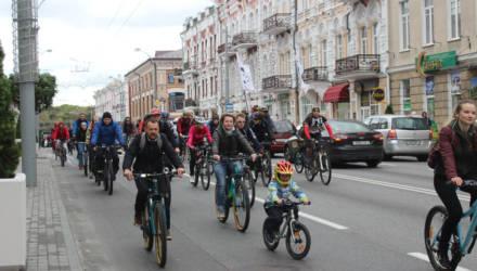 В Гомеле Всемирный день без автомобиля отметили велопробегом