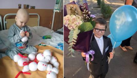 Андрюша из Украины, который мастерил снеговичков, чтобы вылечиться от рака, переехал в Гомель