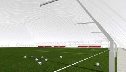 Спортивных объектов в городе прибудет: в Гомеле построят футбольный манеж