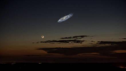 Как бы выглядело звёздное небо, если бы галактика Андромеды была ярче