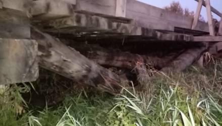 На Гомельщине закрыли ещё один мост: его поломала многотонная фура