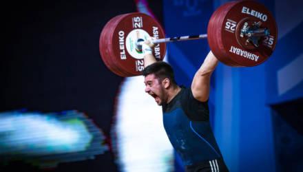 20-летний гомельчанин стал чемпионом мира по тяжёлой атлетике