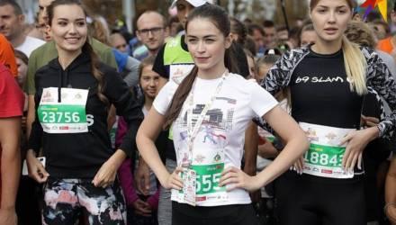 Мария Василевич приняла участие в Минском полумарафоне несмотря на «проблемы со здоровьем» – фото