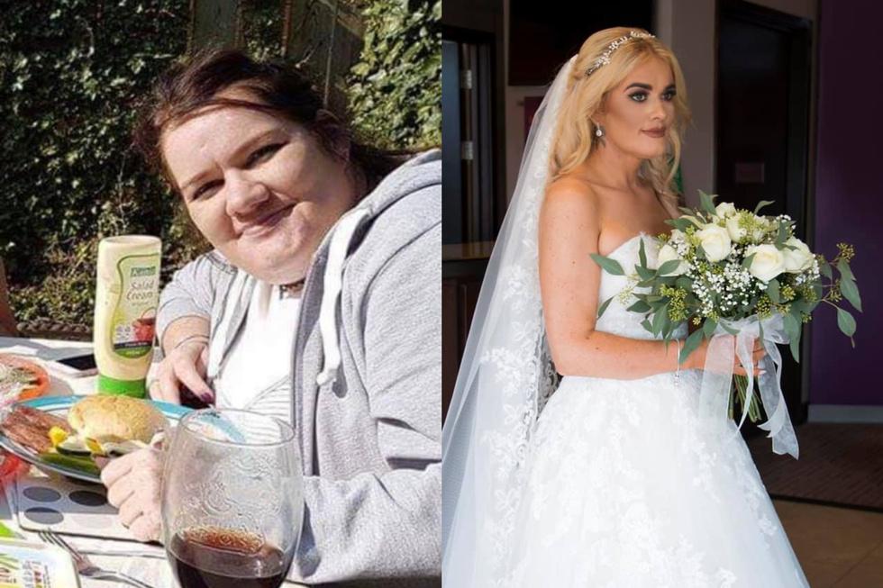Невеста похудела на 50 кг ради платья и к алтарю уже шла совершенно другой