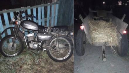 На Гомельщине заботливая мама подарила 39-летнему сыну мотоцикл, а он пьяным врезался в телегу и попал в реанимацию