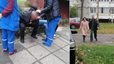 """""""А как же кровища"""". На Сельмаше гомельчанин толкнул своего товарища – тот ударился головой о бетон"""