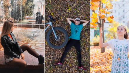 30 поз и идей для осенних фотосессий из гомельского Instagram
