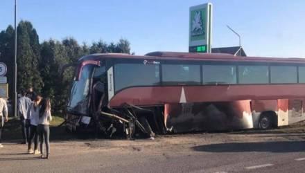 Автобус с белорусскими туристами попал в ДТП по дороге во Львов