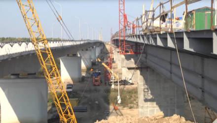 7 ноября на Гомельщине планируют открыть движение транспорта по ещё одному мосту