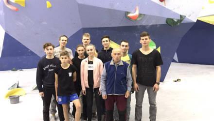 Второе место на Кубке страны по спортивному скалолазанию за гомельчанами