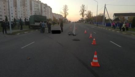 В Жлобине грузовик насмерть сбил 13-летнего мальчика на велосипеде