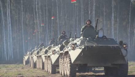 На Гомельщине пройдут военные учения