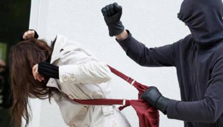 Ранее судимый житель Лельчиц пытался ограбить женщину на улице