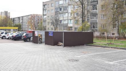 Ликвидация контейнерной площадки породила коллективную жалобу гомельчан