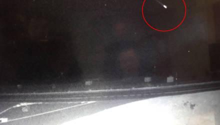 Метеорит или НЛО: светящийся объект в небе напугал белорусов