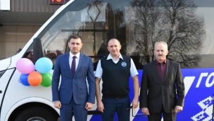 Гомельский автопарк № 6 передал в Брагин новый комфортабельный автобус
