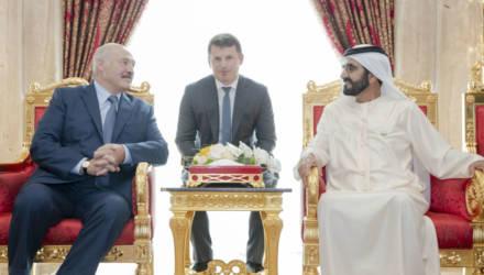 Стало известно, что Лукашенко делает в Эмиратах