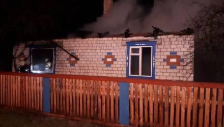 Работник МЧС вынес из огня трех человек в Петриковском районе