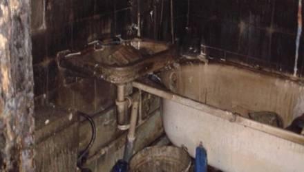"""""""Огнём повреждена стиральная машина"""". В Гомеле на пожаре в квартире заживо сгорел мужчина"""