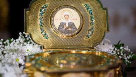 Ковчег с мощами Матроны Московской и Крест-мощевик 1 декабря прибудут в Жлобин