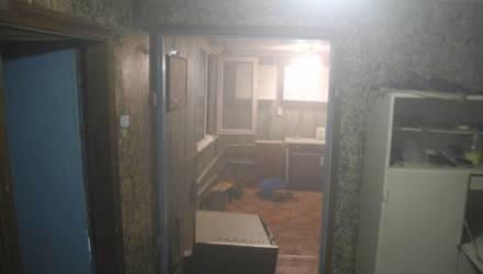 В Гомеле на пожаре 47-летний мужчина спас соседа