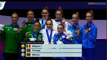 Гомельчане завоевали 5 медалей на чемпионате Европы по спортивной акробатике