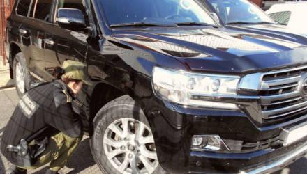 На польской границе у белоруса изъяли Toyota Land Cruiser стоимостью 83.000 долларов