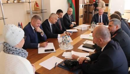 Генеральный прокурор Александр Конюк провёл приём граждан в Гомеле