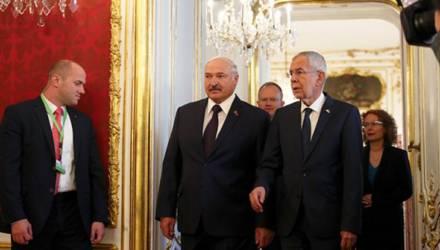 «Только референдум». Лукашенко в Австрии задали вопрос о смертной казни в Беларуси